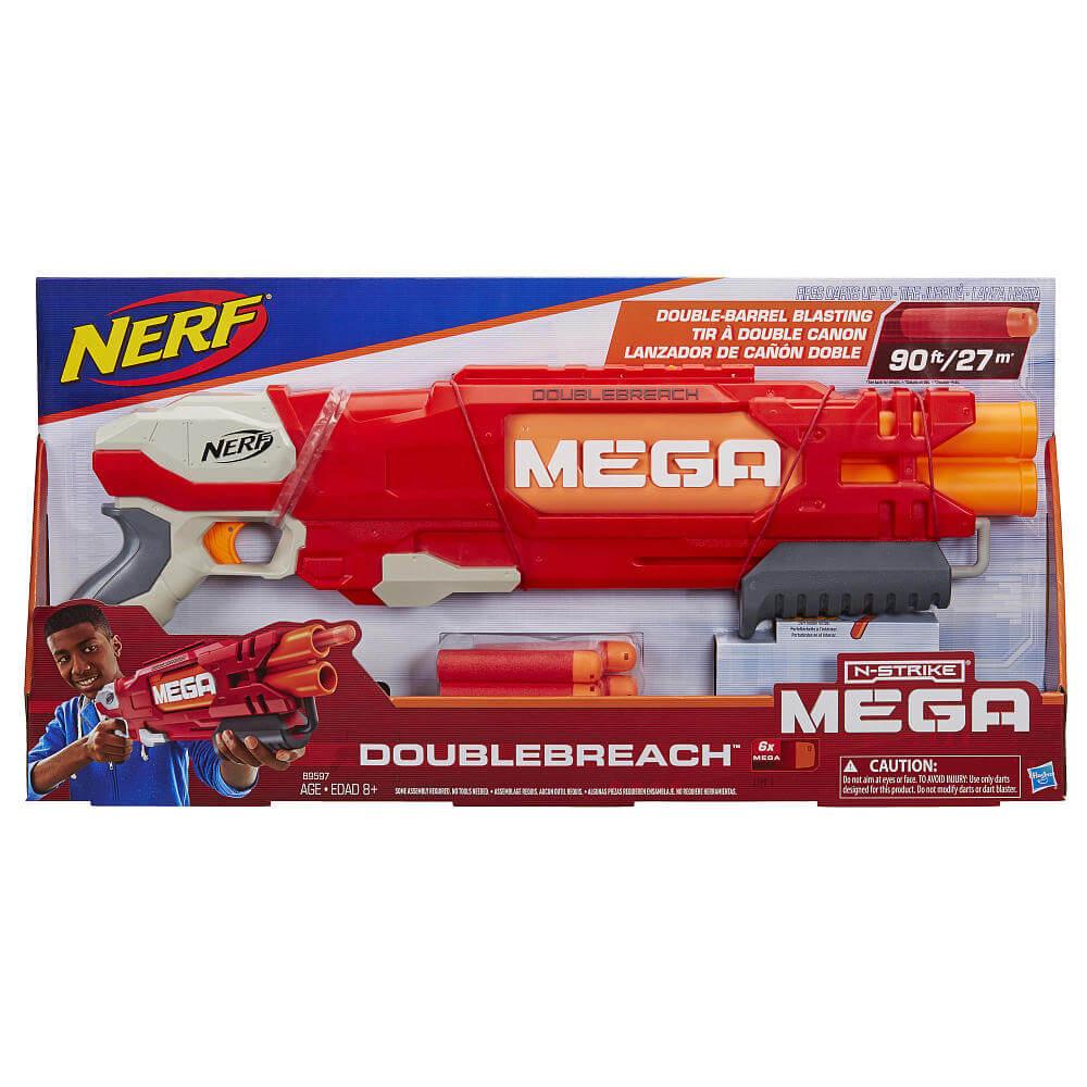 Mua đồ chơi súng NERF B9597 - (mã: B9597) Súng NERF MEGA DOUBLEBREACH (dòng N-Strike Mega)