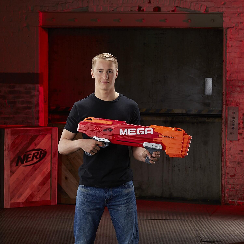 Mua đồ chơi súng NERF B9893 - (mã: B9893) Súng NERF MEGA TWINSHOCK (dòng N-Strike Mega)