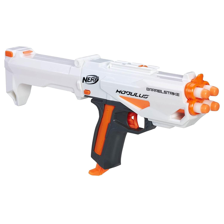 Mua đồ chơi súng NERF C0390 - (mã: C0390) Súng NERF BARRELSTRIKE (dòng Modulus N-Strike)