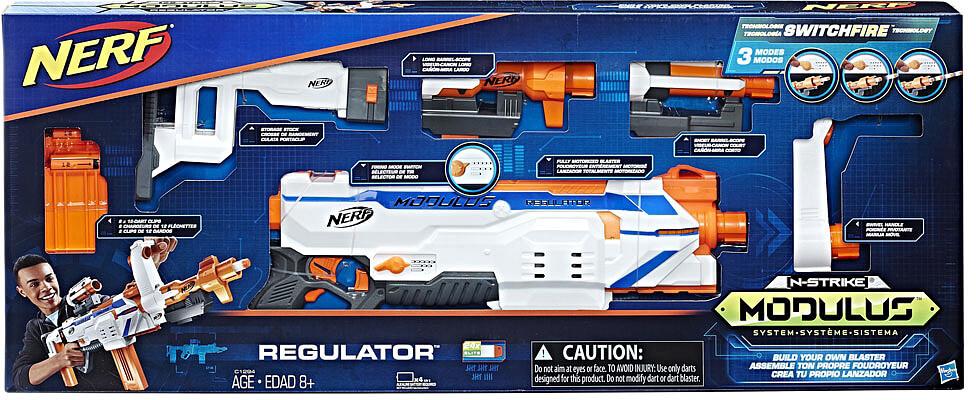 Mua đồ chơi súng NERF C1294 - (mã: C1294) Súng NERF REGULATOR (dòng Modulus N-Strike)