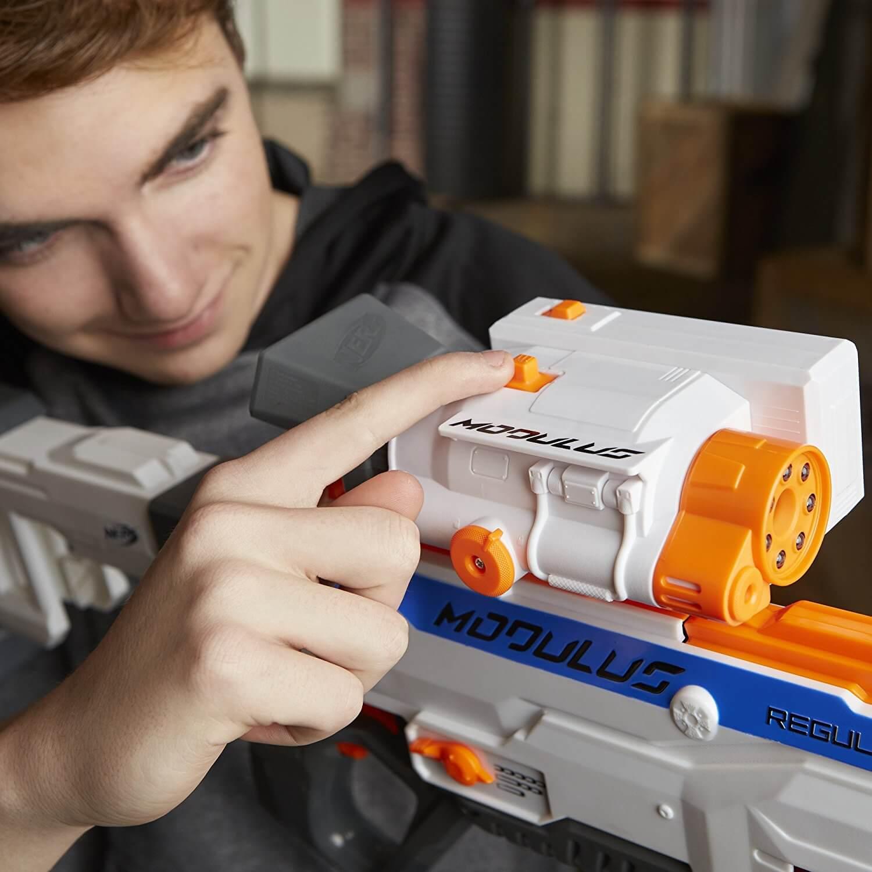 Mua đồ chơi súng NERF C1296 - (mã: c1296) Ống ngắm hồng ngoại nhìn đêm NERF Day/ Night Zoom Scope (dòng Modulus N-Strike)