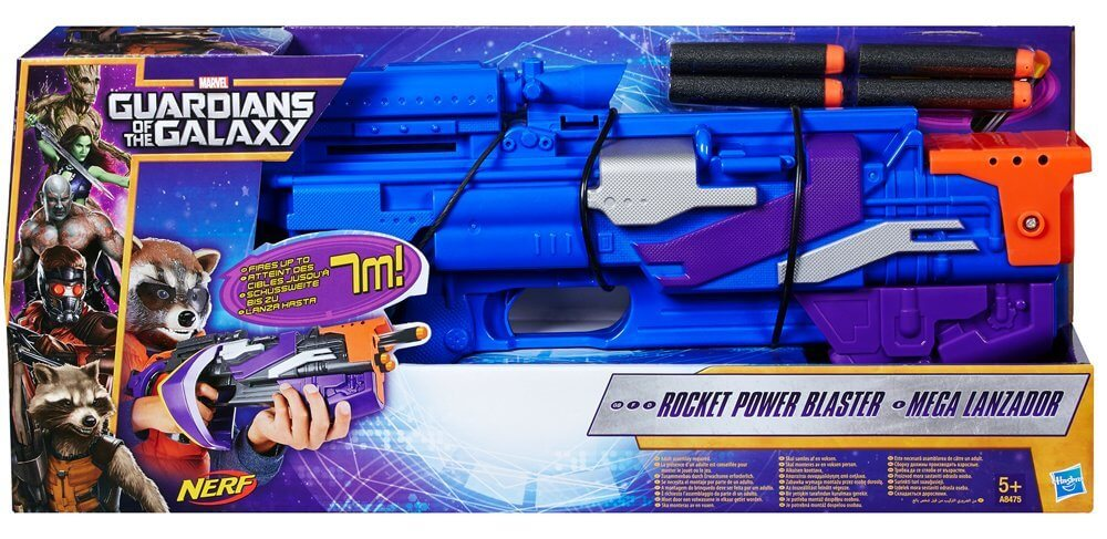 Mua đồ chơi súng NERF C2768AS00 - (mã: C2768AS00) Súng NERF MARVEL GUARDIANS OF THE GALAXY ROCKET RACCOON (dòng N-Strike Elite)