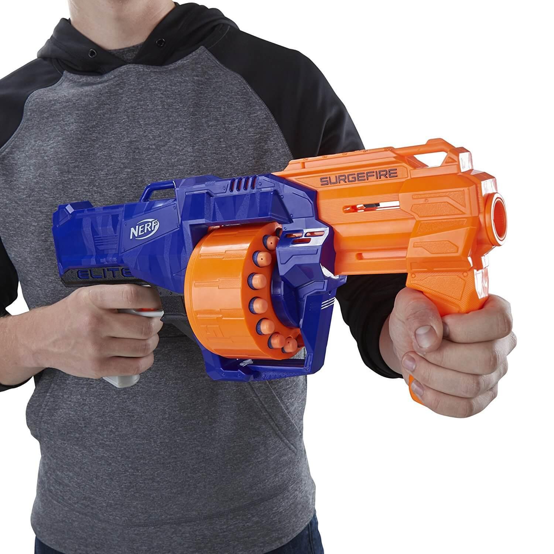 Mua đồ chơi súng NERF E0011 - (mã: e0011) Súng NERF SurgeFire (dòng N-Strike Elite)