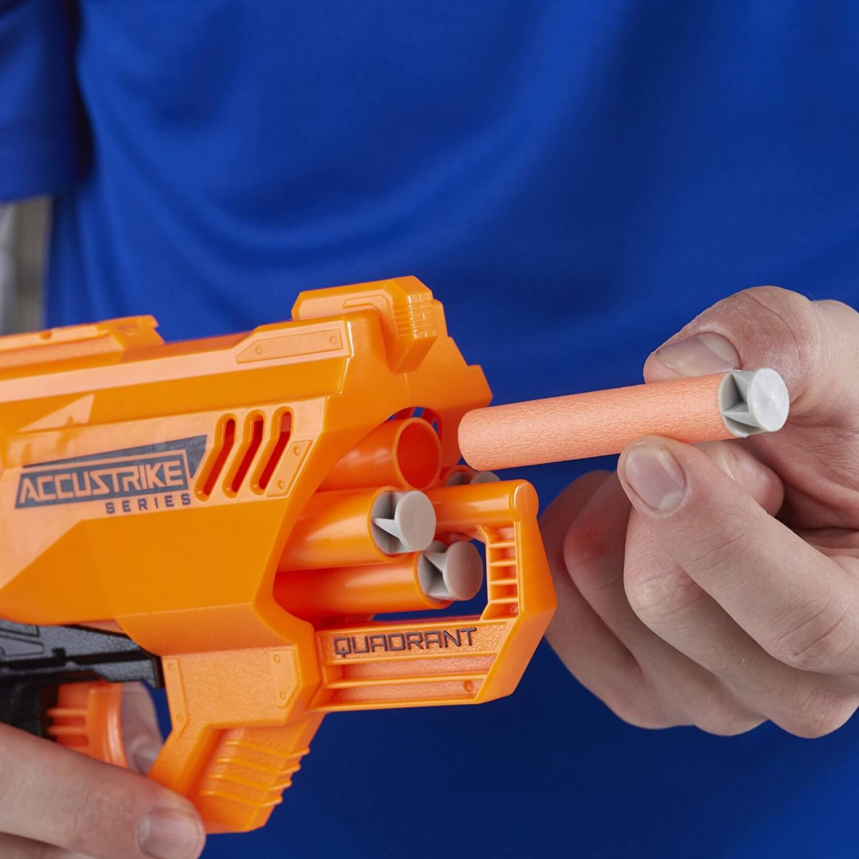 Mua đồ chơi súng NERF E0012 - (mã: e0012) Súng NERF Quadrant (dòng N-Strike Elite)
