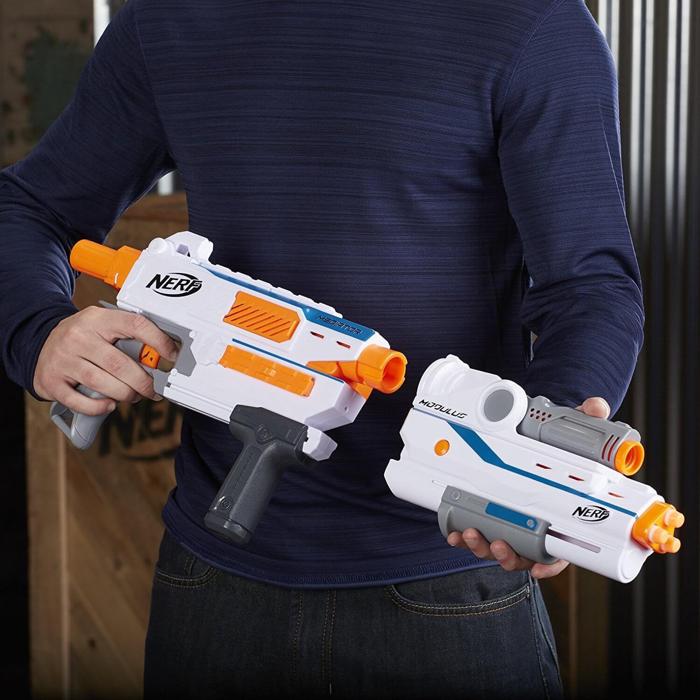 Mua đồ chơi súng NERF E0016 - (mã: E0016) Súng NERF Mediator (dòng Modulus N-Strike)