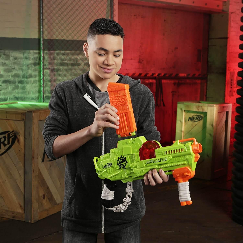 Mua đồ chơi súng NERF E0311 - (mã: E0311) Súng NERF Zombie RevReaper (dòng Zombie Strike)