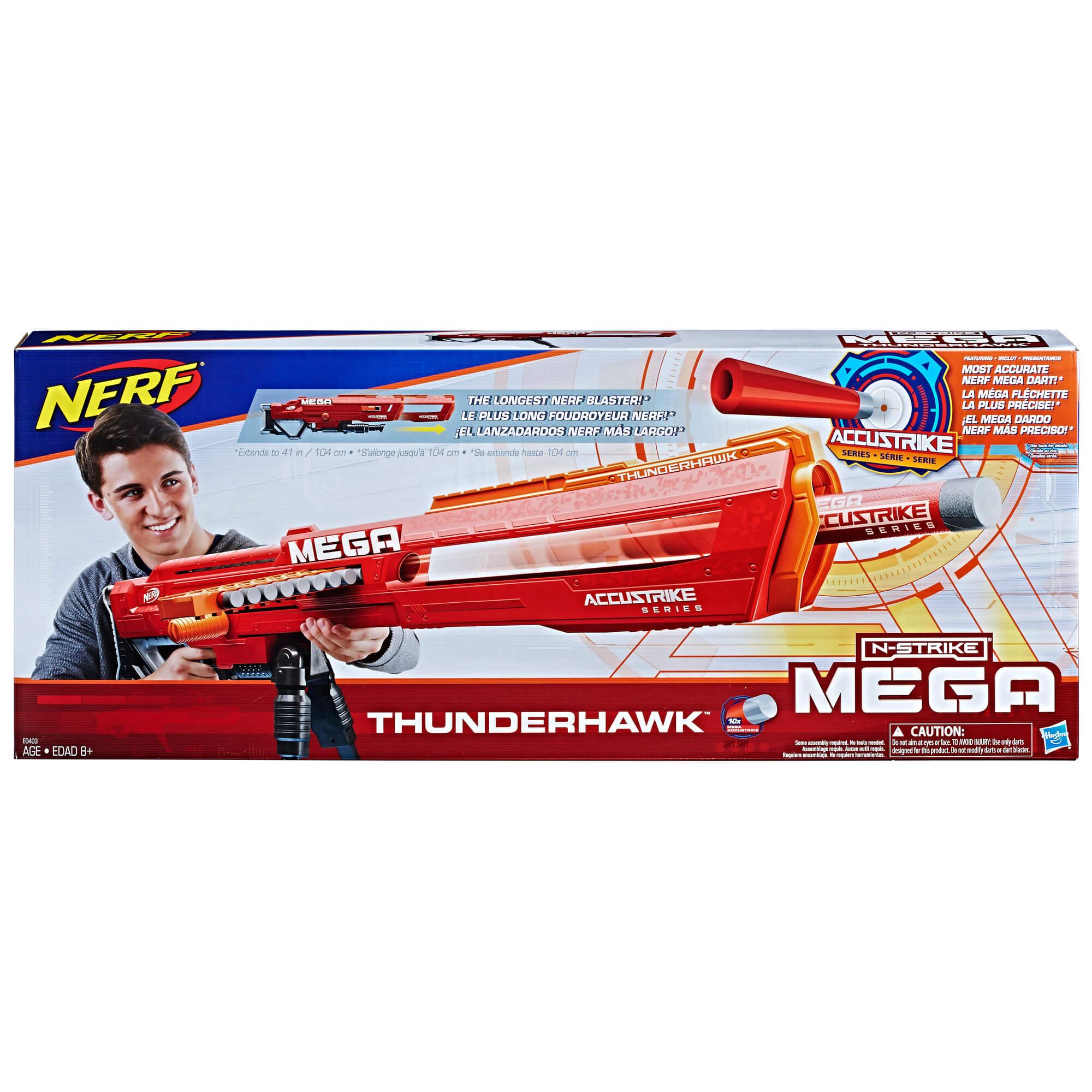 Mua đồ chơi súng NERF E0403 - (Mã: E0403) Súng NERF MEGA AccuStrike Thunderhawk (dòng MEGA N-Strike Elite)
