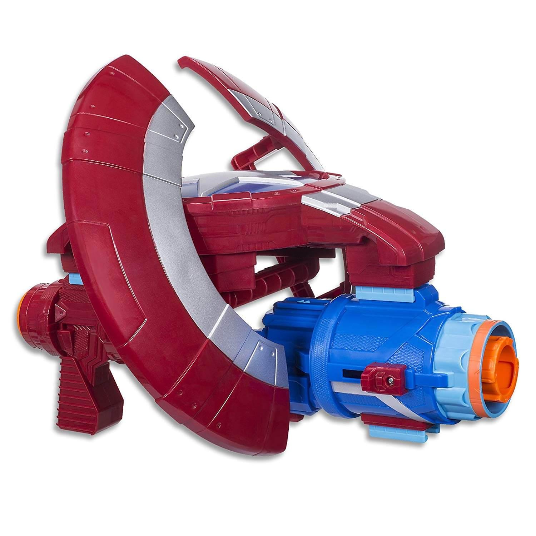 Mua đồ chơi súng NERF E0567 - (mã: E0567) Súng NERF Khiên Biến Hình của Captain America (dòng Elite)