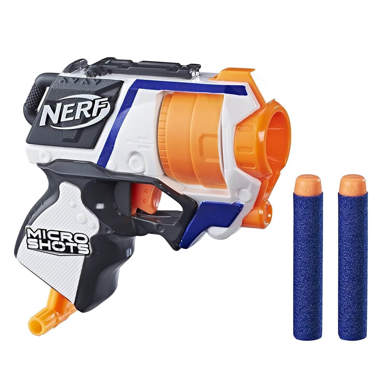 Mua đồ chơi súng NERF E0719 - (mã: E0719) Súng NERF Micro Shots Strongarm (dòng N-Strike Elite)