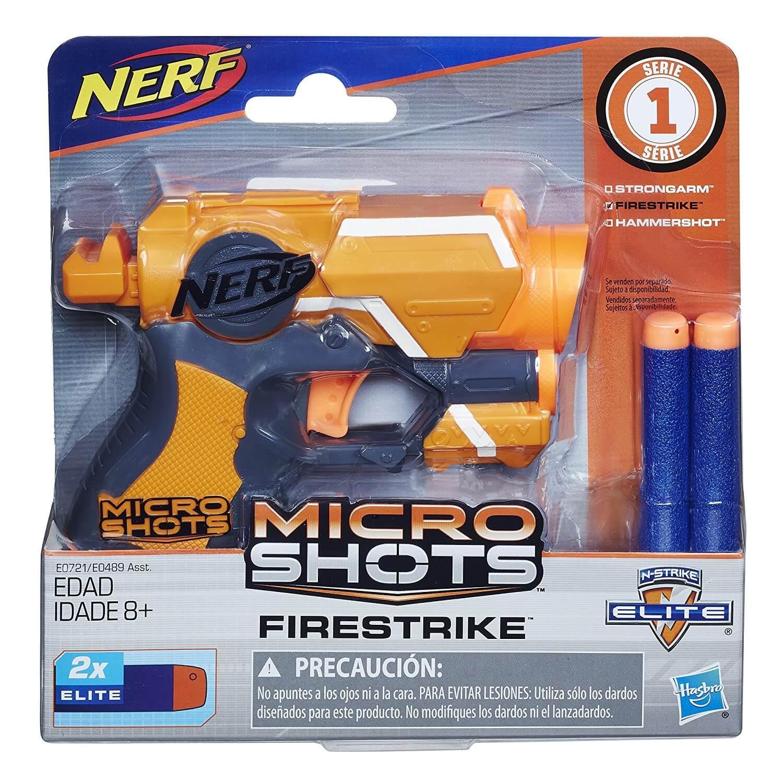 Mua đồ chơi súng NERF E0721 - (Mã: E0721) Súng NERF Micro Shots Firestrike (dòng N-Strike Elite)