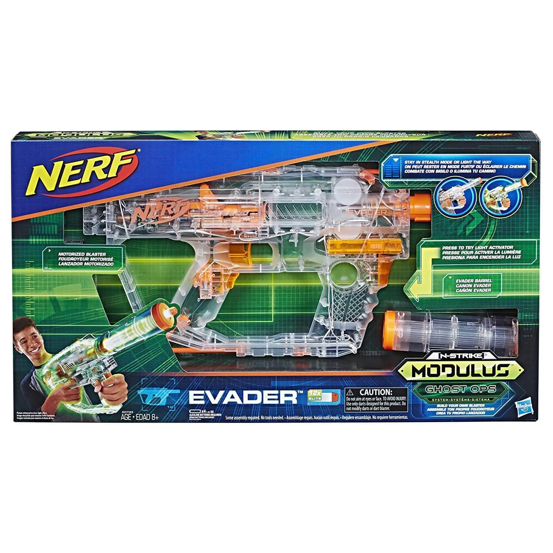 Mua đồ chơi súng NERF E0733 - (Mã: E0733) Súng NERF Modulus Ghost Ops Evader (dòng Modulus N-Strike)