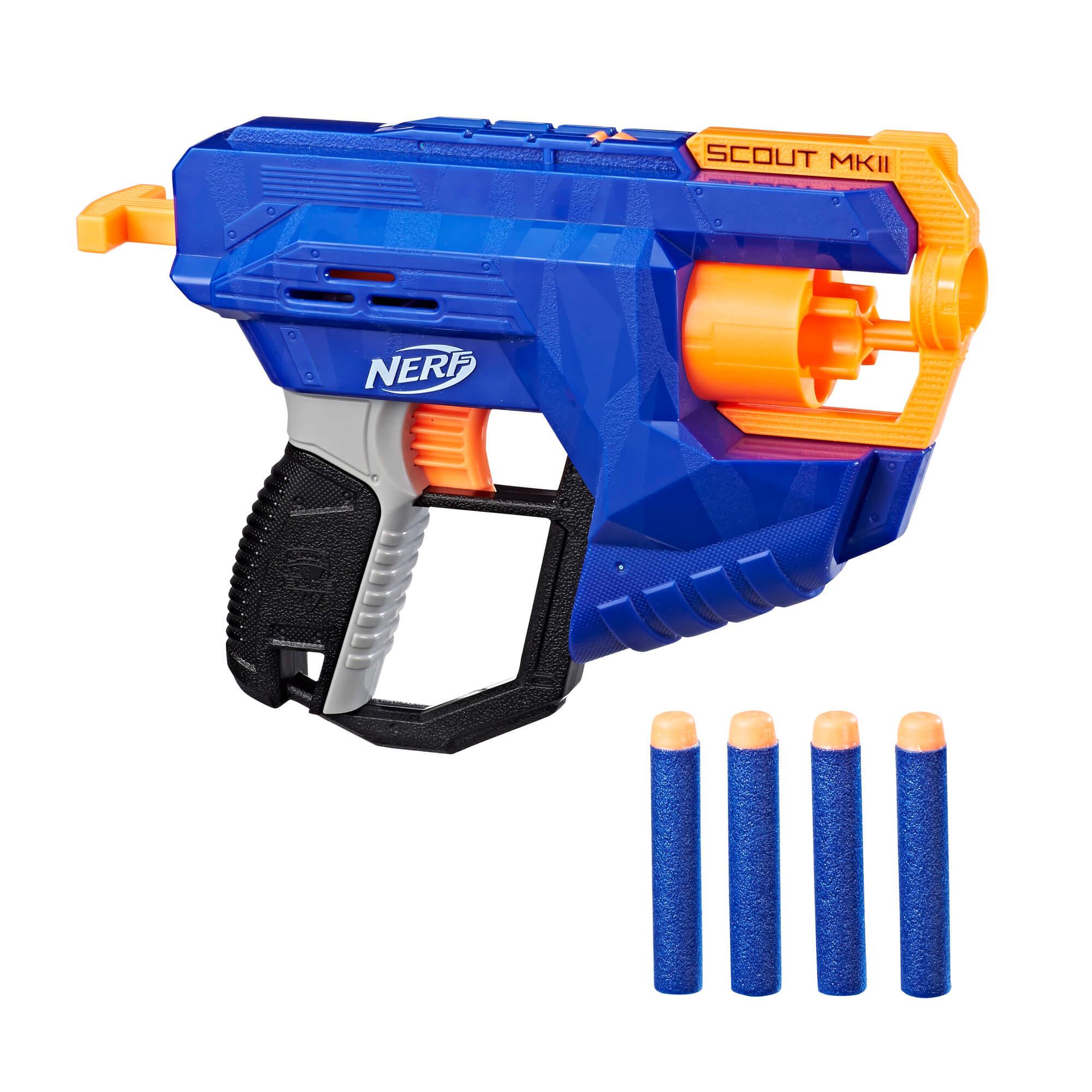 Mua đồ chơi súng NERF E0824 - (Mã: E0824) Súng NERF Scout MKII (dòng N-Strike Elite)