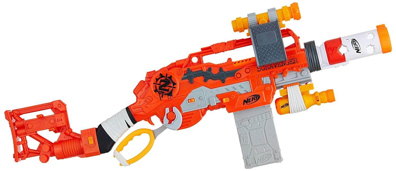 Mua đồ chơi súng NERF E1754 - (Mã: E1754) Súng NERF Scravenger (dòng Zombie Strike)