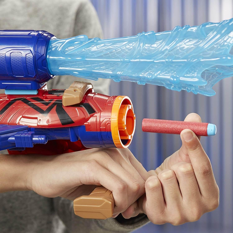 Mua đồ chơi súng NERF E2134 - (mã: E2134) Súng NERF Bàn Tay của Người Nhện Spider-Man (dòng Elite)