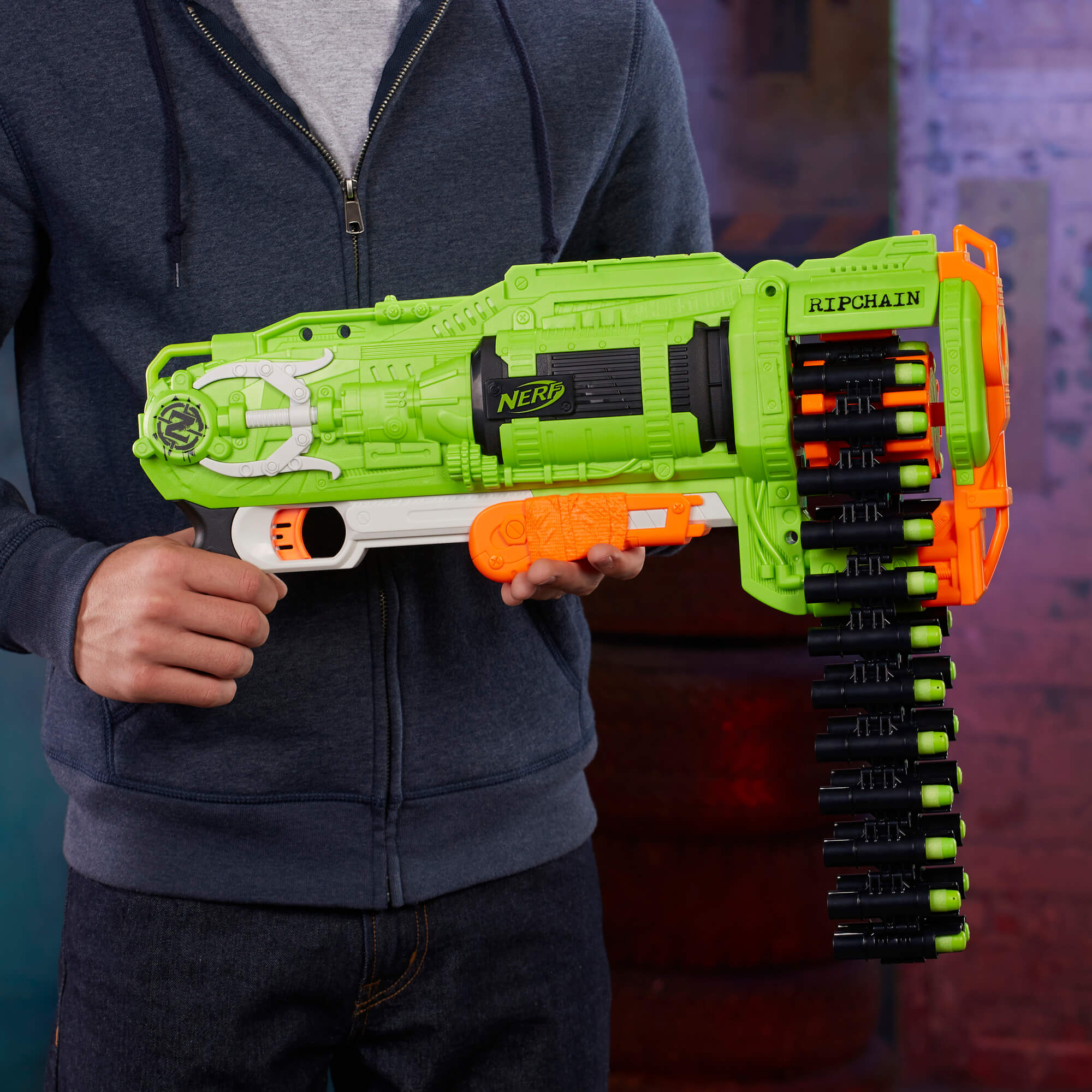Mua đồ chơi súng NERF E2146 - (Mã: E2146) Súng NERF Ripchain (dòng Zombie Strike)