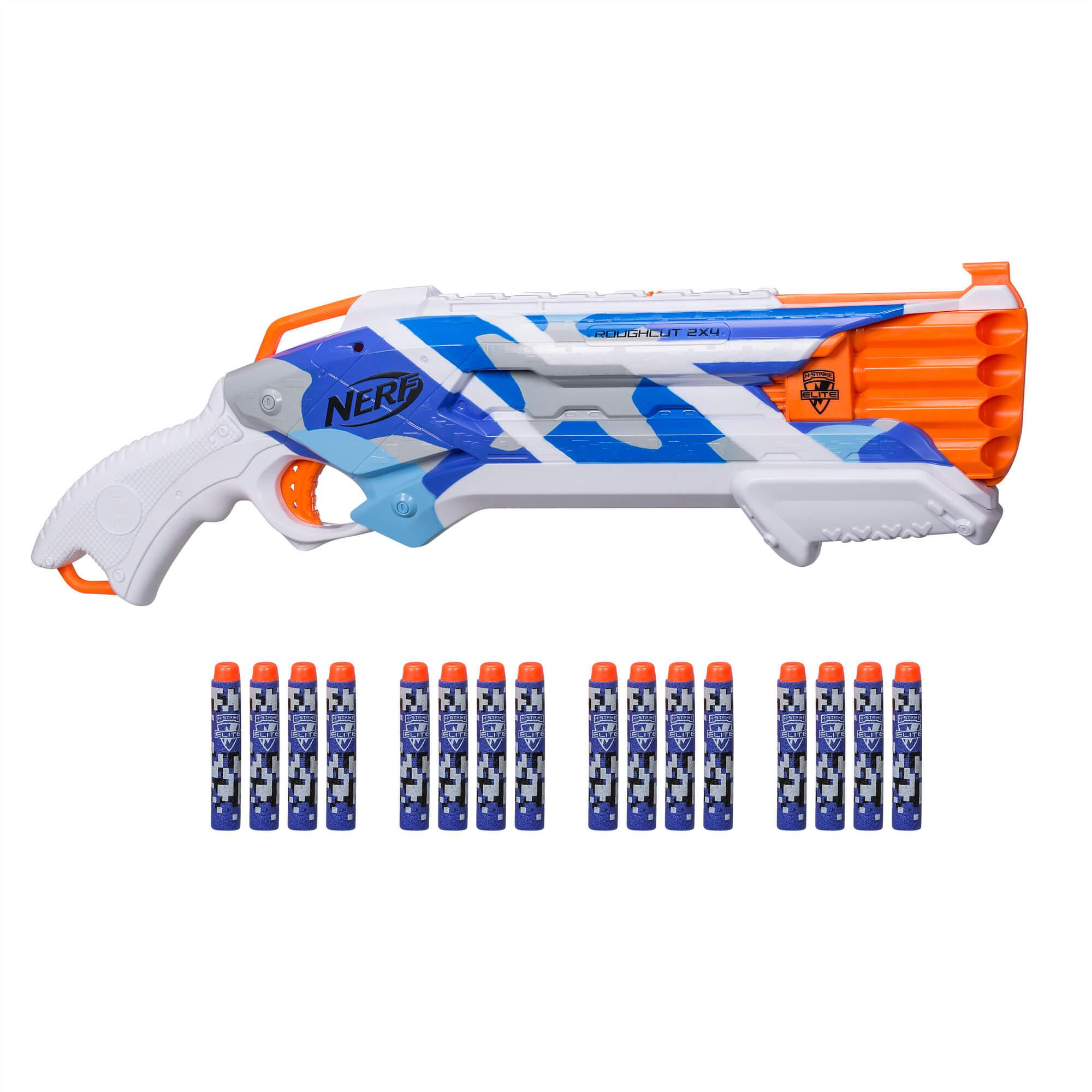 Mua đồ chơi súng NERF E2287 - (Mã: E2287) Súng NERF Rough Cut 2x4 BattleCamo (dòng N-Strike Elite)