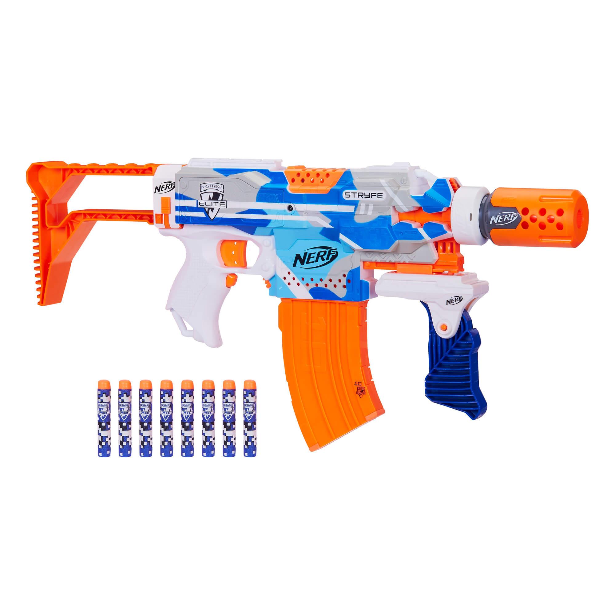 Mua đồ chơi súng NERF E3834 - (Mã: E3834) Súng NERF Stryfe BattleCamo (dòng N-Strike Elite)