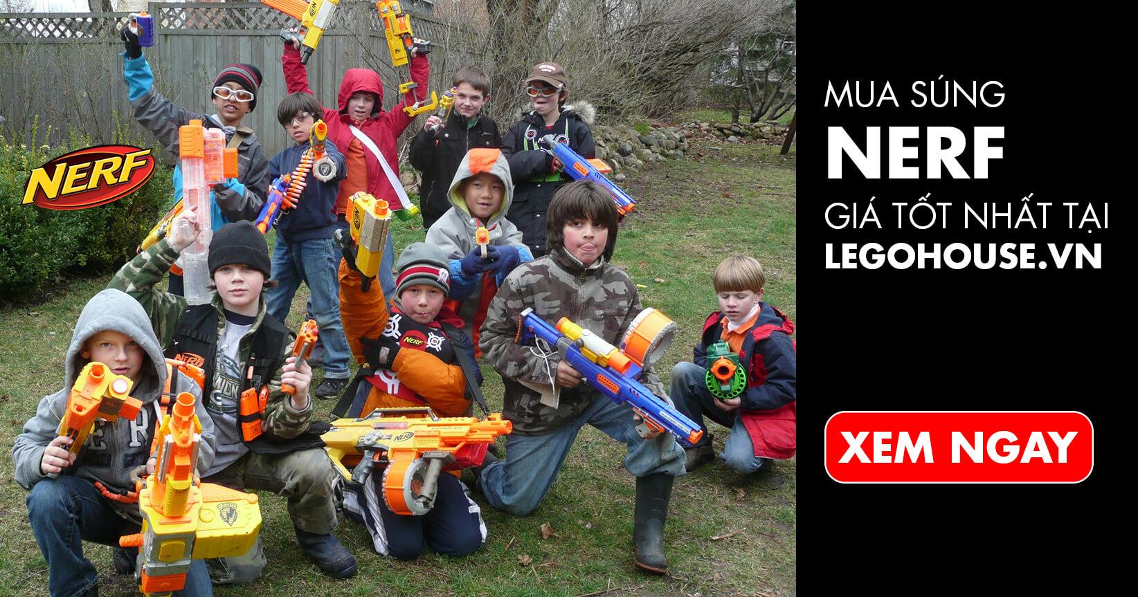 Mua súng NERF giá rẻ nhất việt nam tại legohouse.vn