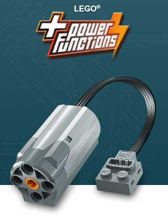 LEGO Power Functions - Động Cơ LEGO