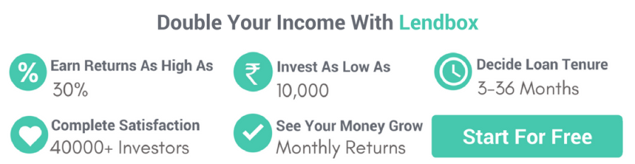 double your income with Lendbox