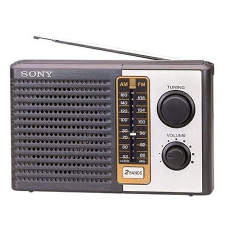 Radio-Sony-Portable-ICF-F-10-AM-FM