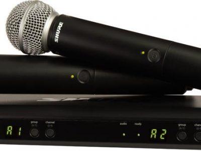Mic-Vokal-Wireless-Tanpa-Kabel-Shure-BLX288-SM58