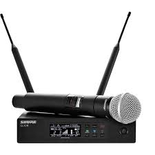 Mic-Vokal-Wireless-Tanpa-Kabel-Shure-QLXD24-SM58