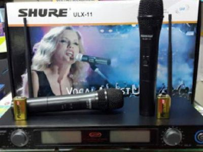 Mic-Vokal-Wireless-Tanpa-Kabel-Shure-ULX-11