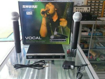 Mic-Vokal-Wireless-Tanpa-Kabel-Shure-ULX-7