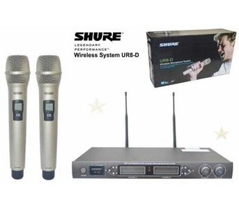 Mic-Vokal-Wireless-Tanpa-Kabel-Shure-UR8D