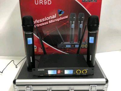 Mic-Vokal-Wireless-Tanpa-Kabel-Shure-UR9D