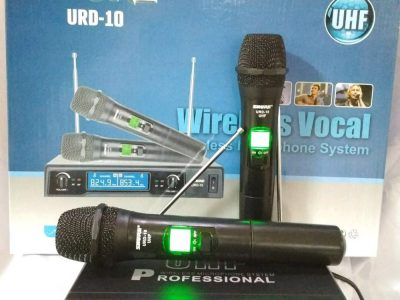 Mic-Vokal-Wireless-Tanpa-Kabel-Shure-URD-10