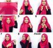 9 Tutorial Hijab Segi Empat Simple Tanpa Ciput