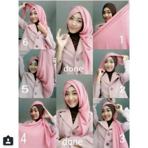 Hijab Rawis Anggun Untuk Pesta