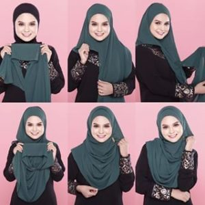 Hijab Instan Two Face