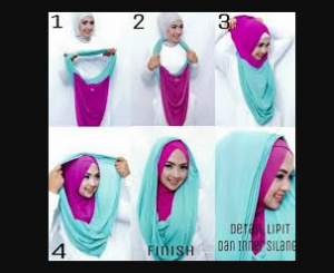 Hijab Instan Dengan Ciput atau Inner