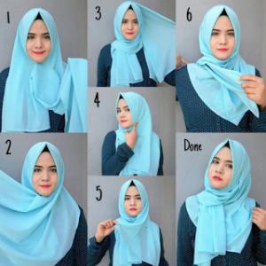 Hijab Kerja Simple Anggun