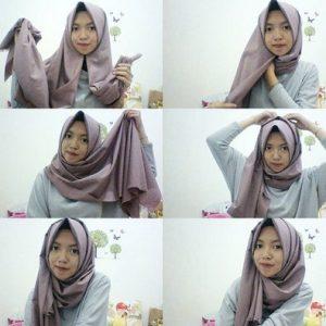 Hijab Casual untuk Kuliah