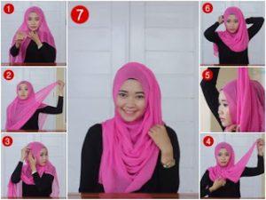 Hijab Paris Segi Empat Casual