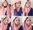 8 Tutorial Hijab Modern Simple untuk Remaja