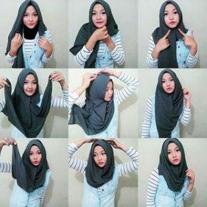 Hijab Pashmina Modern Anggun