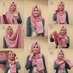 Hijab Pashmina Simpel Modern untuk Kuliah