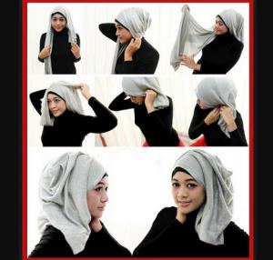 Hijab Pashmina Glitter Simple
