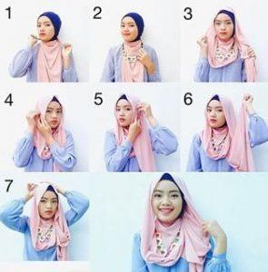 Hijab Pashmina Simple Formal