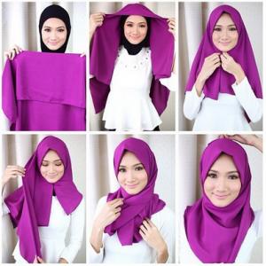 Elegan Jilbab style Untuk Kerja