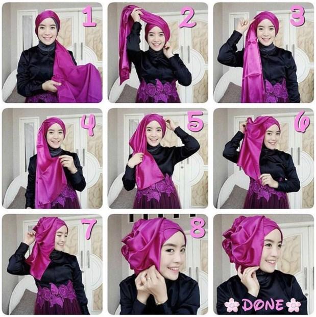 Tutorial Hijab Pesta Hijabyuk Com