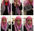 6 Tutorial Jilbab Segitiga Simple dan Cantik