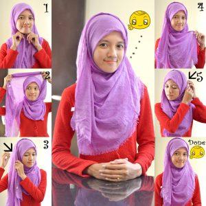 Hijab Pashmina Kusut Rawis