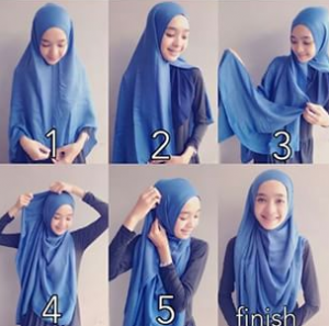 Hijab Pashmina Kaos untuk Kuliah