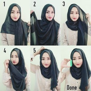 Hijab Pashmina Sifon Casual untuk Kuliah
